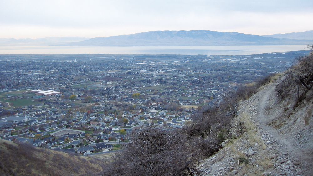 The Land and Water Conservation Fund has invested more than $186 million to protect Utah's recreational lands, including the Bonneville Shoreline Trail, but only 100 miles of the about 280 miles of Shoreline Trail have been protected. - TED & DANI PERCIVAL