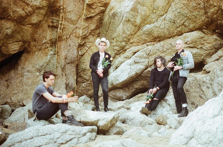 The Choir Boy members, from left: Michael Paulsen, - Adam Klopp, Chaz Costello and Jeff Kleinman - KRISTIN COFER