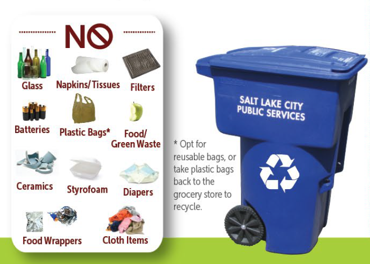 Latest recycling guidelines from SLCgreen. - SLC.GOV