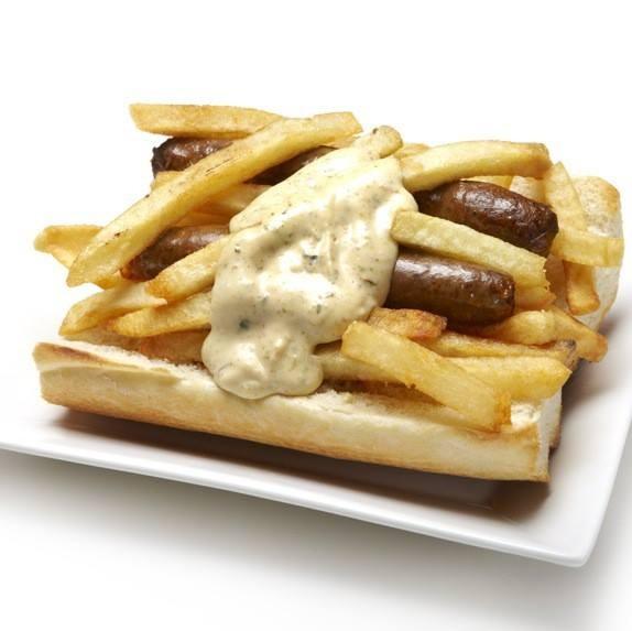 Machine Gun Sandwich at Bruges Waffles & Frites - VIA FACEBOOK/BRUGES WAFFLES & FRITES