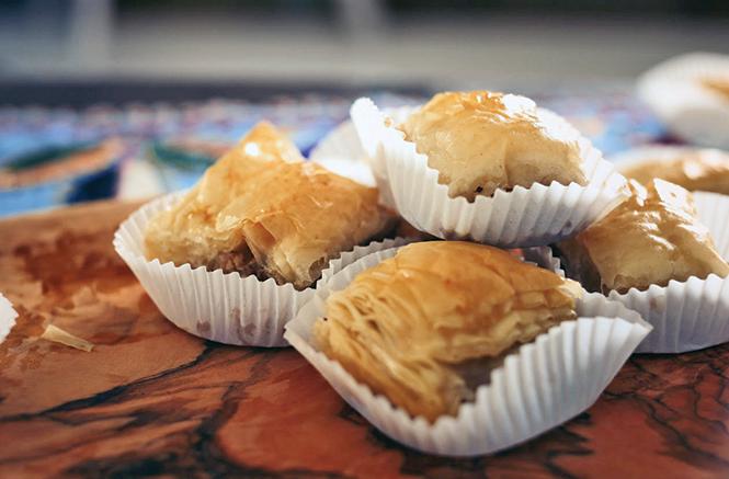 Bohemian Baklava's 'Cheesecake' - COURTESY PHOTO