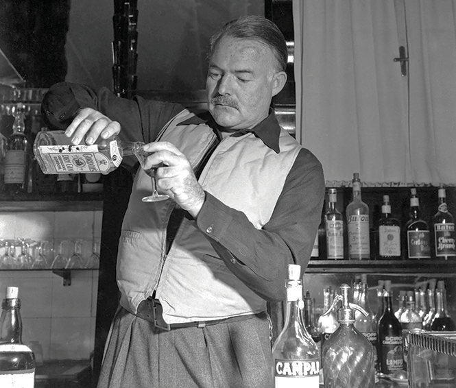 Remember Ernest Hemingway with a  citrus-forward rum drink