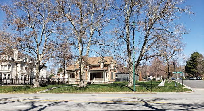 History worth preserving: the historic Glendinning Home at 617 E.  South Temple in Salt Lake City now houses the Utah Division of Arts and Museums - KATHARINE BIELE