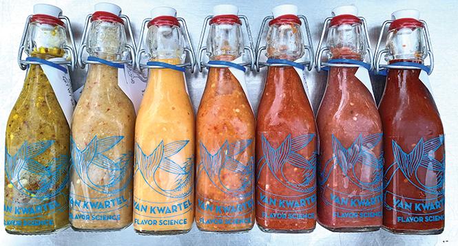 Spicy sauce that tastes like home: Van Kwartel Flavor Science - AIMEE L. COOK