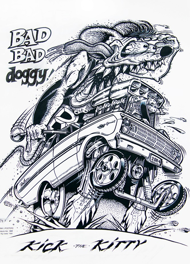 Ed Big Daddy Roth Rat Fink Visual Art Salt Lake City Rat Fink Coloring Pages