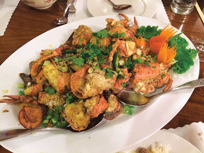Lotus of Siam's Fried Lobster