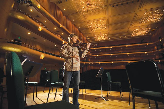 This winter, hear David Porter and nine colleagues from Utah Symphony play in venues more intimate than Abravanel Hall. - COURTESY PHOTO