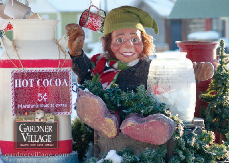 His name's Cocoa Chanelf: The Great Christmas Adventure at Gardner Village