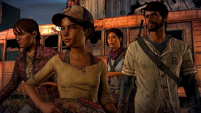 Well, don't you look like a motley crew! - TELLTALE GAMES