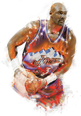 45965f67 Utah Jazz basketball wouldn't be where it is today without John Stockton  and Karl Malone. To describe one, one must also include the other.