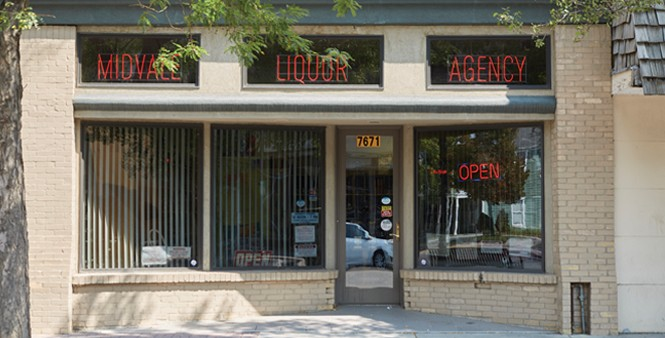 """Best little liquor store in the - West,"" says Midvale City's Butte - STEVEN VARGO"