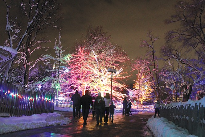 Hogle Zoo's ZooLights - COURTESY HOGLE ZOO