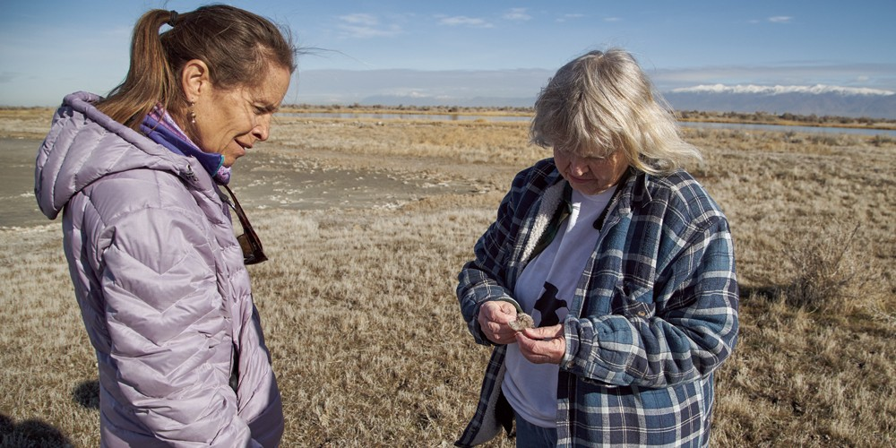 Hoven and Sorensen want to preserve the wetlands near the northwest quadrant as development plans ramp up. - SARAH ARNOFF