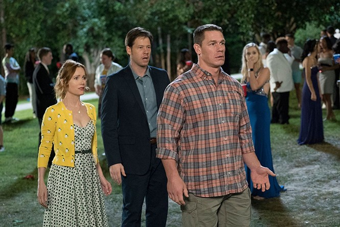 Leslie Mann, Ike Barinholtz and - John Cena in Blockers - UNIVERSAL PICTURES