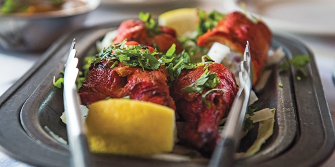 Star of india's - tandoori chicken - NIKI CHAN