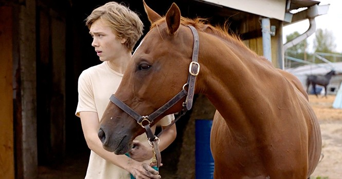 Charlie Plummer in Lean on Pete - A24 FILMS