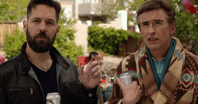 Paul Rudd and Steve Coogan in Ideal Home. - BRAINSTORM MEDIA