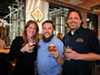 """<p class=""""cwi"""">The Level Crossing Brewing Co. braintrust: Business development manager Katie Flanagan, left, head brewer Chris Detrick, middle, and owner Mark Medura</p>"""