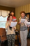 West Side Theatre Co. performers rehearse for Friday's debut.