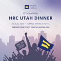 Enter to win tickets to the  15th Annual HRC Utah Dinner!