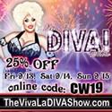 Enter to win 2 tickets to the Viva La Diva Show!
