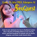 Enter to win a day to SeaQuest Utah!