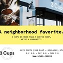 Enter to win a 3 Cups Coffee prize pack!