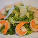 Monday Meal: Boston Lettuce Salad w/ Shrimp, Peas & Herbs