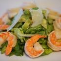 Monday Meal: Boston Lettuce Salad w/ Shrimp, Peas & Herbs
