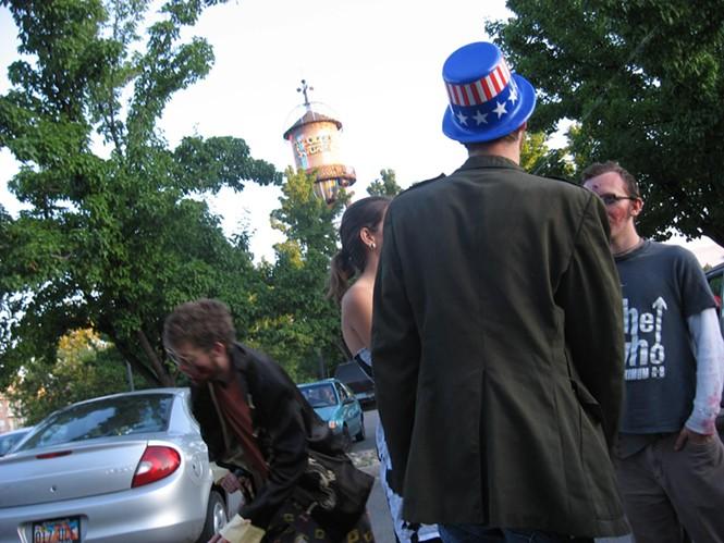 SLC Zombie Walk: 8/9/09