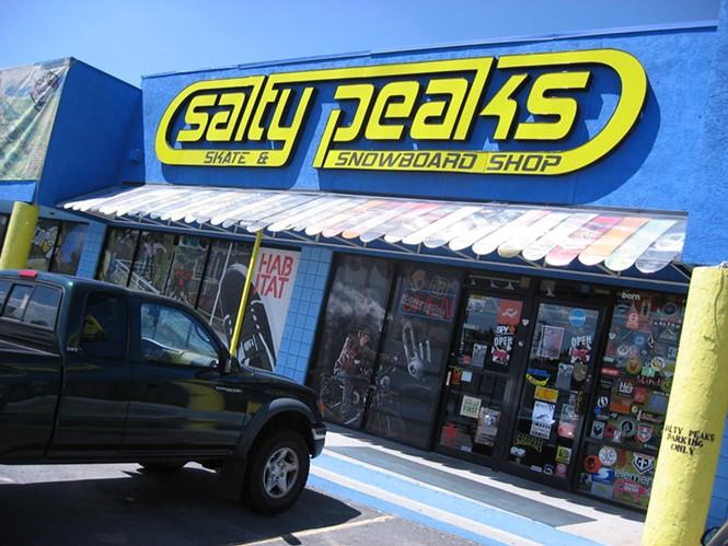 Salty Peaks: 7/30/10