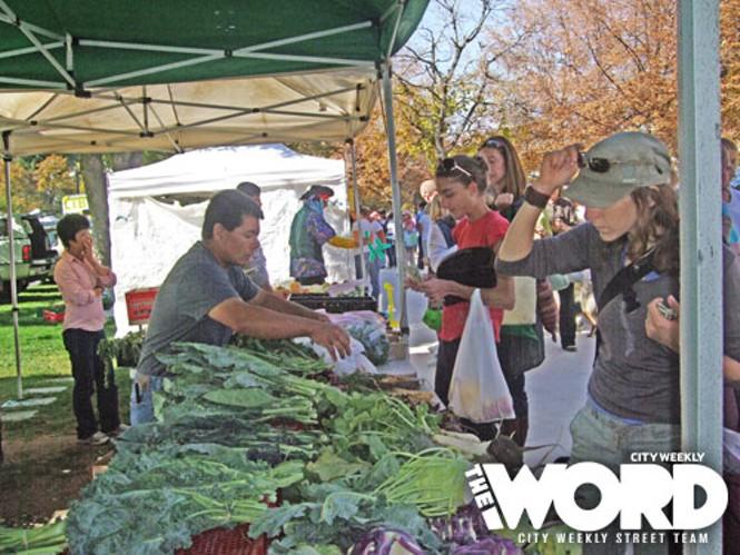 Downtown Farmers Market (10.16.10)
