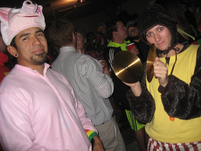 Pickle Factory Halloween: 10/29/10