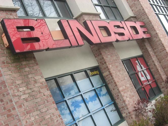 Blindside in Sugar House: 4/28/11