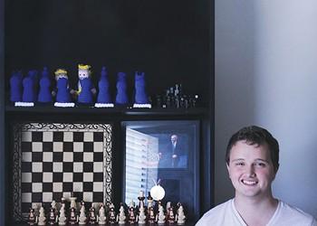 Meet Kayden Troff, Utah's only chess grand master