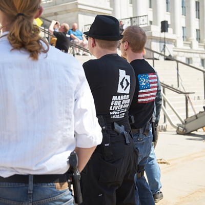 Pro-gun rights rally - Saturday, April 14