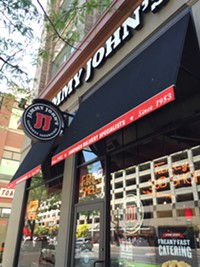 Jimmy John's Restaurant in Salt lake City