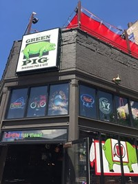 The Green Pig Bar in downtown Salt Lake City