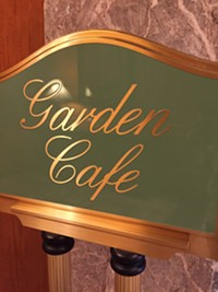 The Garden Cafe in Salt Lake City