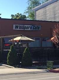 Whisper's Cafe in Salt Lake City