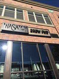 Wasatch Brew Pub in Salt Lake City