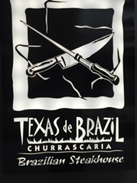 Texas de Brazil Restaurant in downtown Salt Lake City