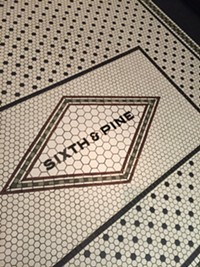 Sixth & Pine Restaurant in downtown Salt Lake City