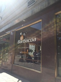 Barbacoa Mexican Restaurant in downtown Salt Lake City