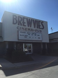 Brewvies Bar in downtown Salt Lake City