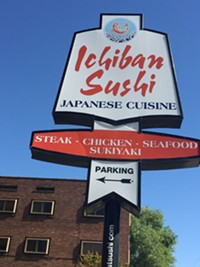Ichiban Sushi Restaurant in downtown Salt Lake City