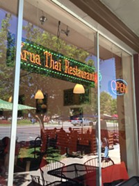 Krua Thai Restaurant in downtown Salt Lake City