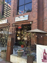 Olive Bistro Restaurant in downtown Salt Lake City