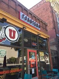 Toasters Restaurant in downtown Salt Lake City