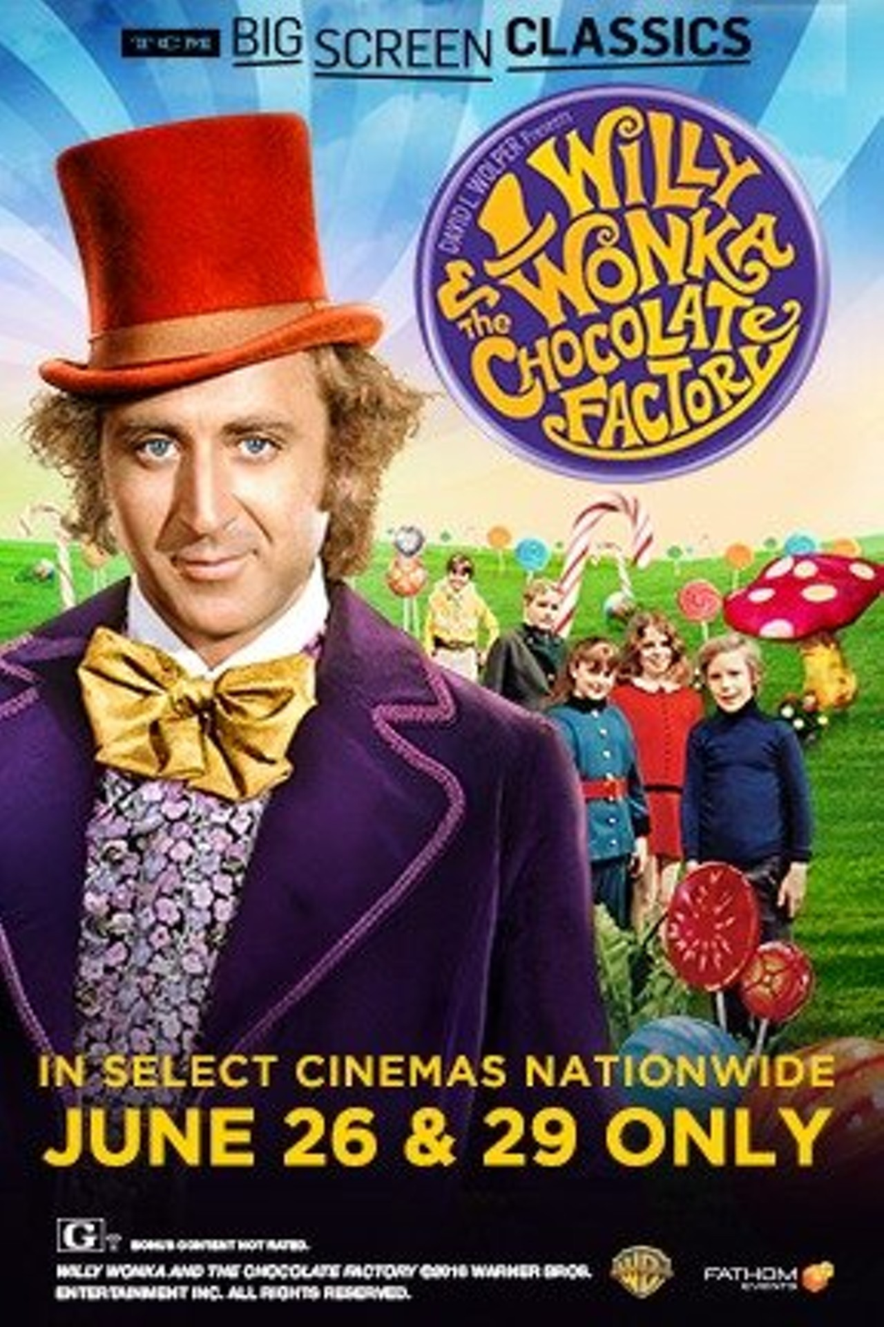 Willy Wonka and the Chocolate Factory (1971) Presented by TCM ...